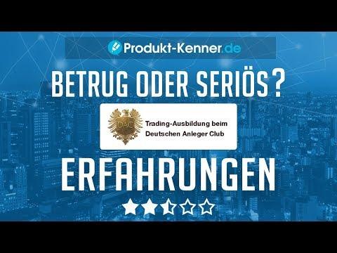 [FAZIT] Deutscher Anlegerclub Erfahrungen + Review - KOSTENLOSES Buch im Test!