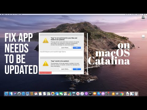 Open & Run 32-Bit App In Catalina: Fix Needs To Be Updated Error