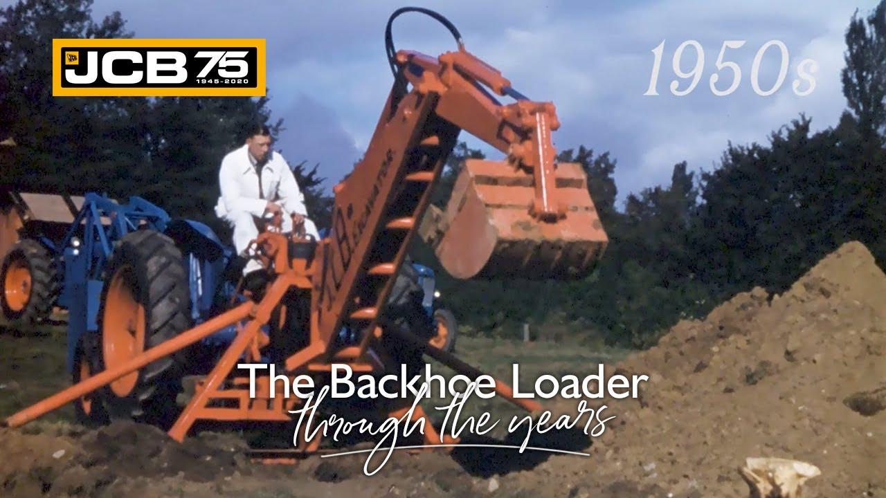 History of the JCB Backhoe Loader - 1950s