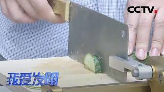 《我爱发明》 20200511 妙计切丝|CCTV农业