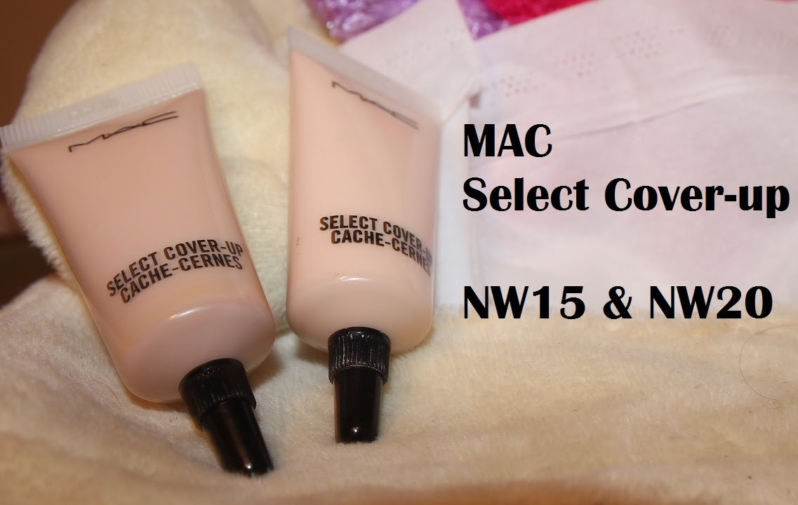 mac select cover up review and first impressions nw15 nw20 youtube