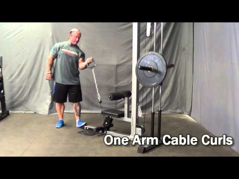 BARBARIAN Lat Pulldown Machine With Lee Priest