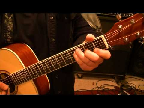 Talking Heads-Psycho Killer/Acoustic by Mike Gross(CVT Lesson for Greg Boots)