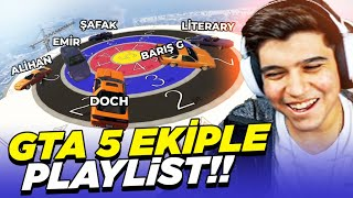 EKİPLE AŞIRI EĞLENCELİ GTA 5 PLAYLIST!! | DOCH