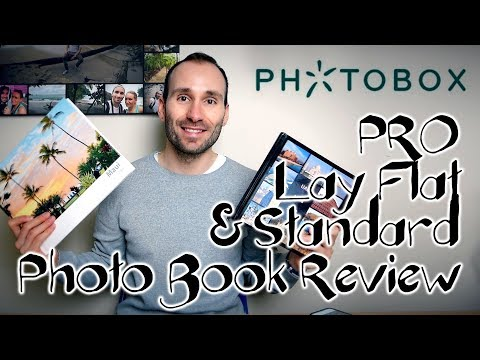 Photobox - PRO Lay Flat & Standard Photo Book Review