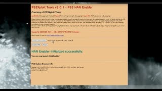 TUTO FR INSTALLER LA HAN TOOLBOX SUR PS3 4.84