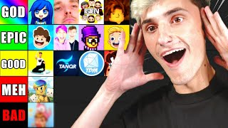 Ranking TOP Roblox YouTubers of 2020.. (My List)