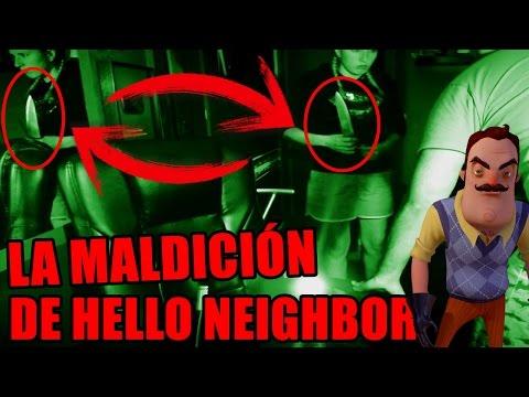LOWE POSEIDA POR UN DEMONIO O ESPÍRITU MALIGNO | La maldición de hello neigbor con youman