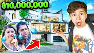 13 Year Old Buys 10,000,000 Mansion...