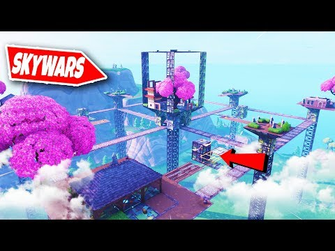 Fortnite SKYWARS Mini-Game! | Fortnite Creative (Nederlands)