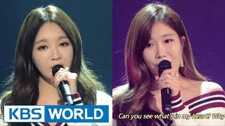 Cover images Davichi - It's Okay, It's Love / Cry Again [Yu Huiyeol's Sketchbook]
