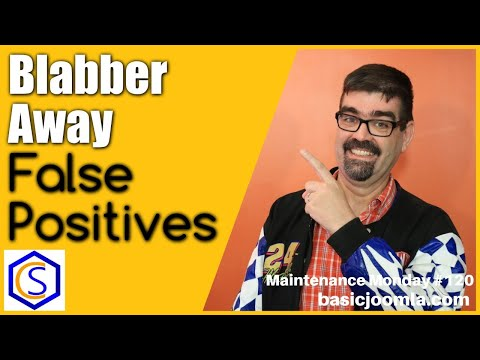 Blabber Away Email Spam False Positives In Joomla Emails 🛠 MM Live Stream #120