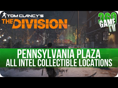 The Division Beta - Pennsylvania Plaza / Camp Hudson - All Intel Collectible Locations