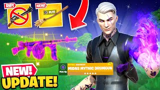 *NEW* FORTNITEMARES UPDATE is EPIC in Fortnite! (Midas, Mythics + MORE)