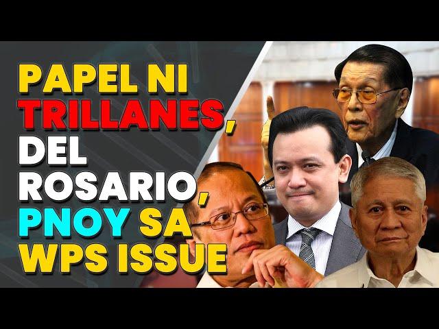 Enrile, isiniwalat ang papel ni Trillanes, del Rosario, PNoy sa WPS issue
