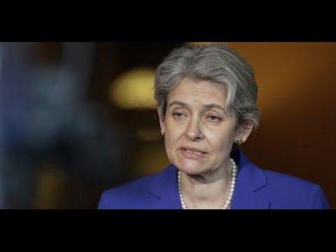 Irina Bokova: «il faut plus de Nations-Unies, de négociations, de diplomatie»