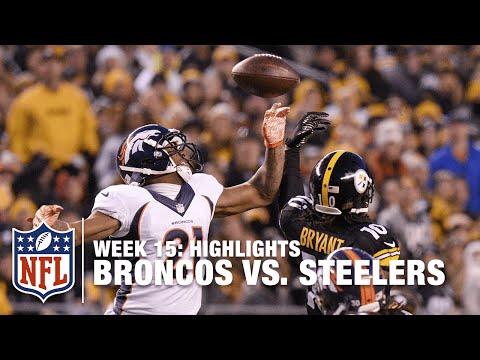 Broncos vs. Steelers | Week 15 Highlights | NFL