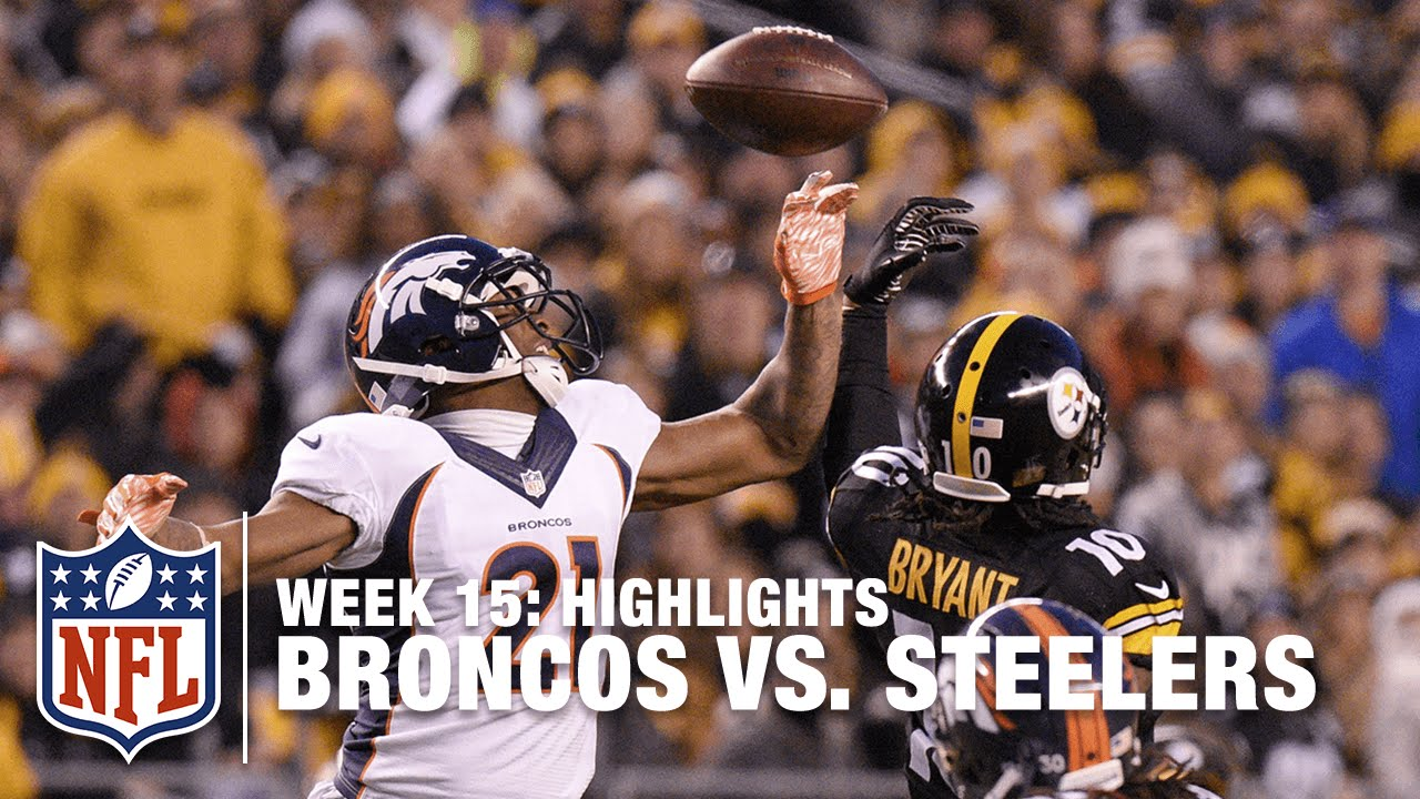 ab333b0725b Broncos vs. Steelers