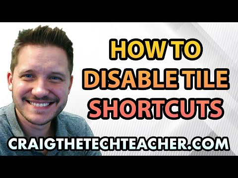 How To Disable Tile Shortcuts From The Windows 10 Start Menu