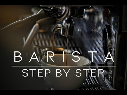 STEP BY STEP  เตรียมความพร้อมสำหรับการเป็นบาริสต้า