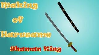 Blender - Making of Harusame - Shaman King
