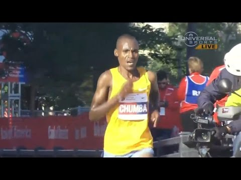 Dickson Chumba wins 2015 Chicago Marathon - Universal Sports