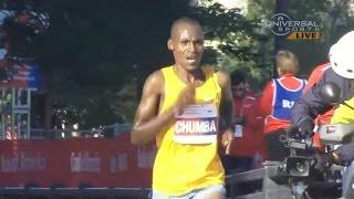 Dickson Chumba wins 2015 Chicago Marathon - Universal Sports