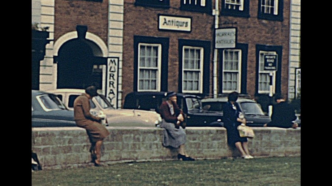 Life in Exeter 1963– Archive Footage
