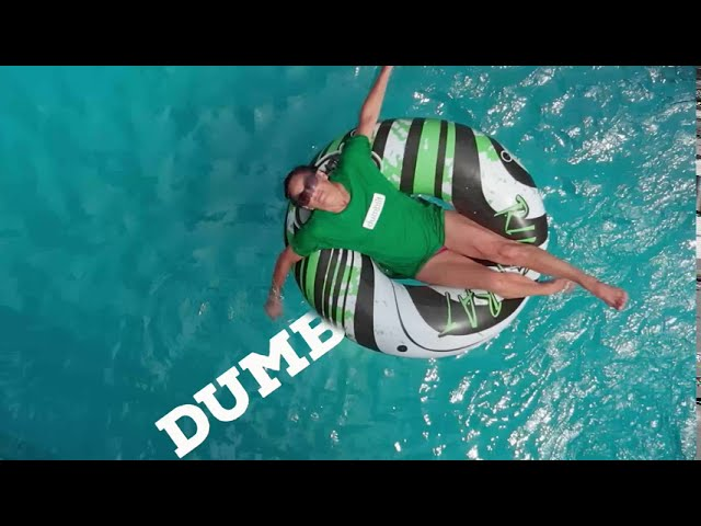 "Dumblit Apparel's September 2020 Teaser in New ""Pool"" Commercial on YouTube"