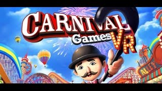 PlayStation VR: Carnival Games VR Game Play