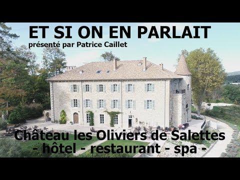 Château les Oliviers de Salettes - hotel - restaurant - spa