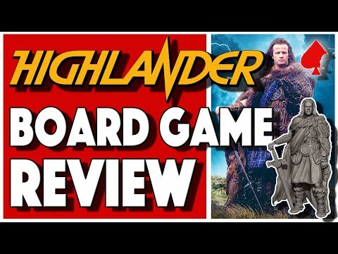 Highlander The Board Game Review - River Horse