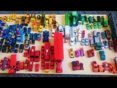 JUGUETES. APRENDE COLORES Y FORMAS.VEHÍCULOS Para NIÑOS. Coche,camión,tractor,grúa,carro,máquinas