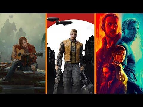 The Last of Us 2 WHEN? + Wolfenstein II vs Nazis + Blade Runner 2049 Disappoints