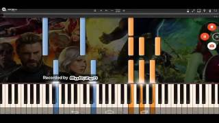Мстители Война Бесконечности музыка из трейлера 1 comi-con sdcc d23expo
