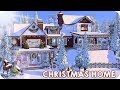 CHRISTMAS FAMILY HOME 🎄 | Sims 4 Speed Build