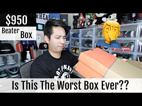 """Sole Supremacy Beater Box $950 """"Was This Box Worth The Price?"""""""