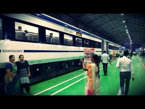 India's ENGINELESS TRAIN-18 Inaugration Excerpts! ||Interiors and Exteriors Covered! ||ICF INSIGHTS!