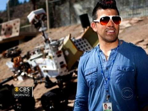 """Engineer-turned-icon: How """"Mohawk Guy"""" made NASA cool again"""