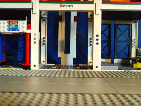 Lego Lego City Garage 4207 Short Movie Youtube