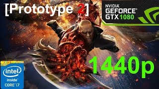 Prototype 2 - GTX 1080 + i7 6700k @1440p (Frame Rate Performance Test)