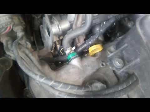 Неисправный клапан вентиляции картера (PCV) = масложор