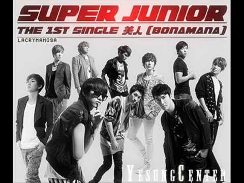 [+MP3 DOWNLOAD] [OFFICIAL] Super Junior - BIJIN (美人/BONAMANA)