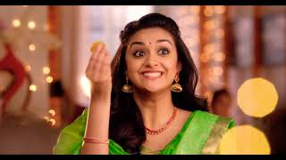 The Chennai Silks Happy Diwali Mersal Ad 2017 | Mersal Diwali 2017 |  keerthi suresh | Kavitha Gopi