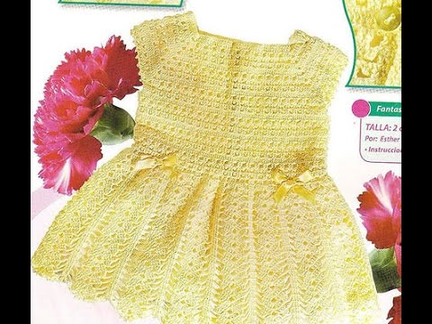 Crochet Patterns For Free Vintage Crochet Baby Dress Pattern