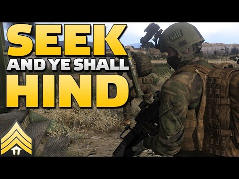 Seek and ye shall Hind - Arma 3 Combat Patrol