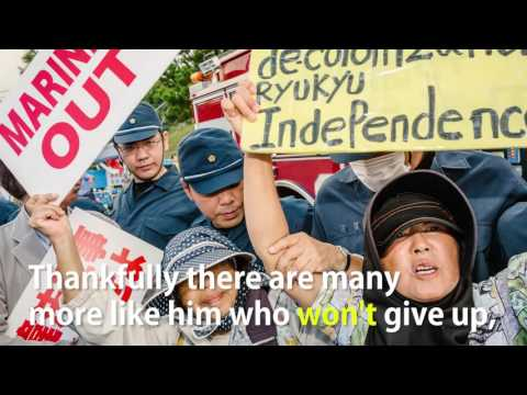 Okinawa Protest - Web Video