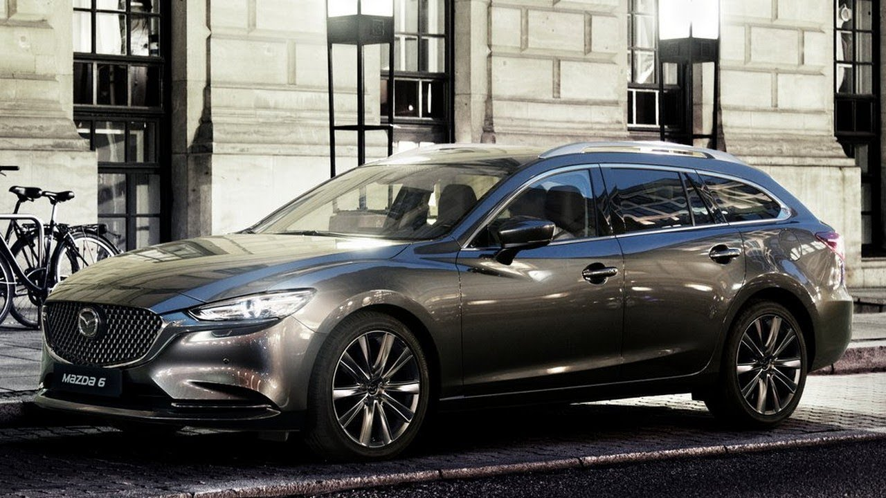 2019 mazda 6 wagon eu review youtube. Black Bedroom Furniture Sets. Home Design Ideas
