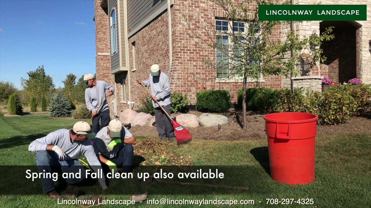 Landscaping Lawn Care Lincolnway Landscape