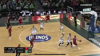 Amichevole Zalgiris Kaunas - Olimpia Milano 70 - 88 Highlights